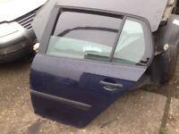 VW Golf MK5 doors silver,blue and black colour £60 each