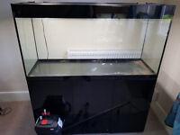 AquaEl GLOSSY 120cm (260L) Aquarium with cabinet & extras