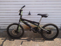 BMX SPECIAL FACTORY BULT WITH DISC BRAKES 20 inch wheels £120