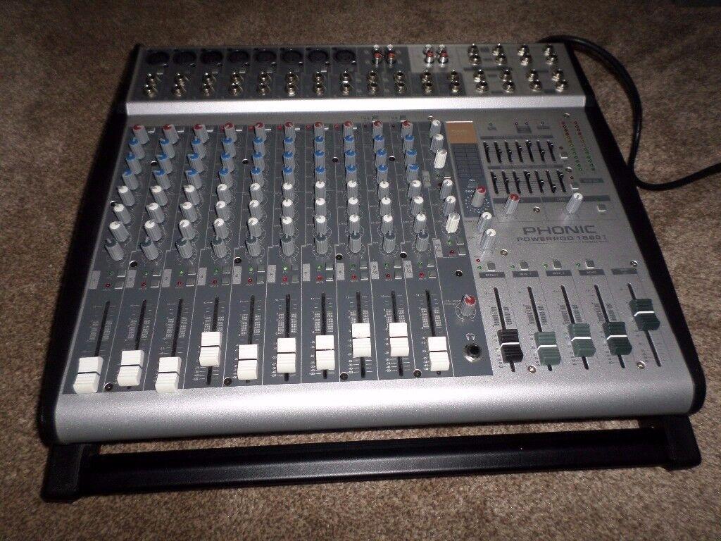 phonic mixer amp