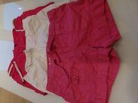 Girls shorts 3 pairs 8-9
