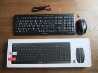 Cherry Stream Desktop Recharge Rechargeable Keyboard