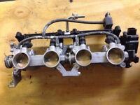 Suzuki GSR 600 Throttle Body & Injectors