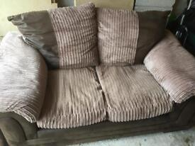 2 seater settee and matching tub chair fab condition