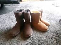 Ugg boots in size 3.5 and 6.5