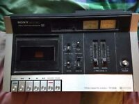 Sony Stereo Tape Recorder BROKEN-FOR PARTS/REPAIR