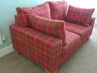 Almost new, NEXT two seat sofa.