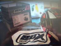 Box crash helmet size medium £25