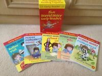Horrid Henry Box Set of 5 Early Reader Books in Mint Cond