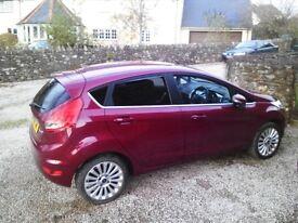 "Ford Ford Fiesta Titanium ""Hot Magenta"" Two keys, 9 months MOT no advisory's."