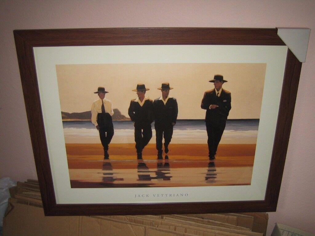 Jack Vettriano 'The Billy Boys' Large Framed Print {60x90cm}