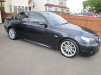 BMW 5 Series 3.0 530d Sport 4dr Metallic Carbon Black with Black Leather Interior
