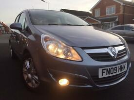 2009 Vauxhall Corsa Design 5dr 1.4 manual