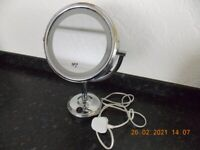 ILLUMINATED VANITY MIRROR BY BOOTS LTD
