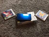 New Nintendo 3ds Xl and 2 games