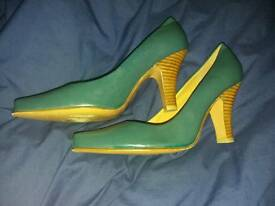 Mistress Green Shoes
