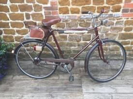 Vintage mans Puch bicycle