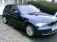 BMW 118D,, 60 PLATE,WHIT PRIVATE PLATE,