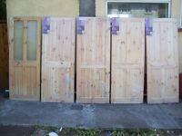 Knotty Pine Interior Doors
