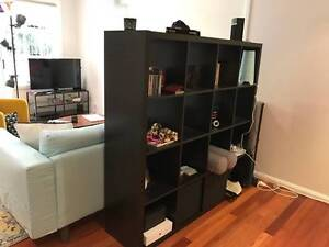 Stylish wooden shelving unit + 2 Boxes / Ikea model Kallax Coogee Eastern Suburbs Preview