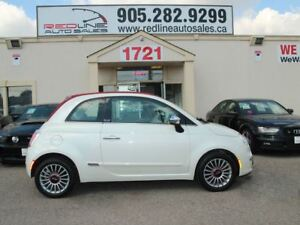 2013 Fiat 500C Convertible, Red Leather, WE APPROVE ALL CREDIT