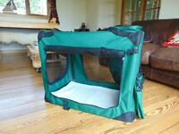 Folding Dog crate by Pet Planet