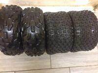 Dunlop quad tyres