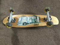 Skateboard by saltrock,VW Splitscreen