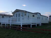 Willerby Vogue Connoisseur on a front sea View location Haven Berwick Upon Tweed Northumberland