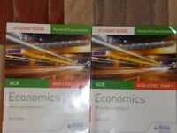 ECONOMICS STUDENT GUIDES FOR OCR ECONOMICS AS/A-LEVEL YEAR 1
