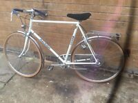 Mens Hybrid Raleigh Sprite Racer Hybrid Bike 1980's in EXCELLENT CONDITION