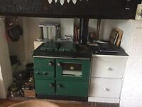 Stanley superstar oil range cooker / boiler (arga rayburn)