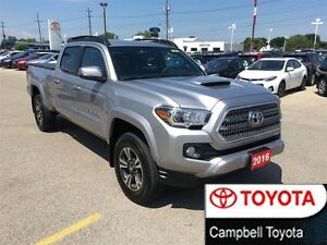 2016 Toyota Tacoma TRD SPORT DOUBLE CAB 4X4 LOW LOW KM'S