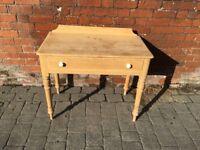 Stripped Pine Washstand/ Desk