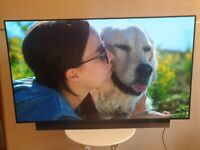 LG 55 Inch OLED 4K Ultra HD HDR Smart LED TV With Freeview HD / Freesat HD (Model OLED55B8SLC)!!!