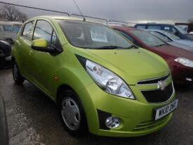 CHEVROLET Spark 5 Door Hatchback,12,000 miles, 1 Former Keeper.