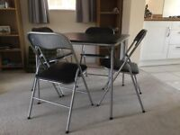 Foldable table and chairs *REDUCED*