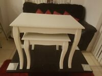Large ivory nest tables