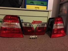 BMW e46 rear lights