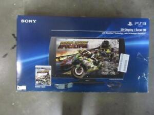 "Sony PlayStation 24"" 3D 1080p 240Hz Widescreen Monitor CECH-ZED1U"