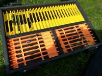 Maver signature seatbox winder tray with winders.