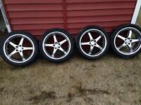 """Spyn wheels 5x100 17"""""""