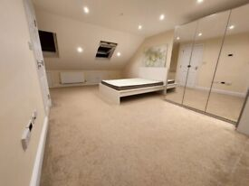 Lovely Loft En-Suit Room to Rent in a shared house at Harlington, Hayes UB3. (Couple Accepted)