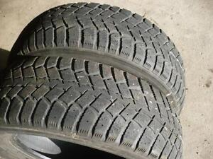 Two 215-65-16 snow tires   $60.00