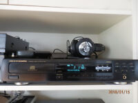 Marantz CD-63 CD player with remote control and manual