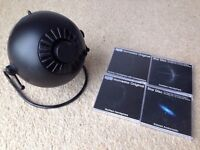 Home Planetarium Homestar Pro / Star Theatre by Sega Toys (black) with 4 discs
