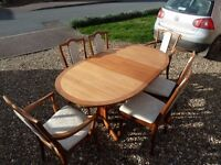 Nathan Dining Room Suite - Table and 6 Chairs