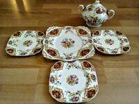 Tuscan Provence serving set