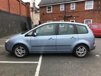 FORD FOCUS CMAX 1.6 TDCI DIESEL 2005 LOW MILEAGE