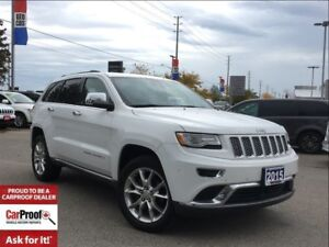 2015 Jeep Grand Cherokee SUMMIT**TRAILER TOW GROUP**PANORAMIC SU